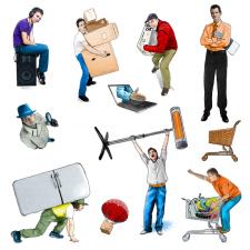 Примеры элементов дизайна для интернет-магазина
