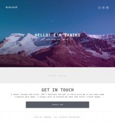 Дизайн + разработка сайта JS
