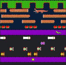 Frogger Retro Clone