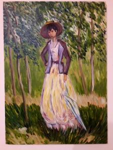 Жінка з парасолькою