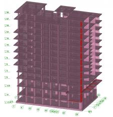 Розрахунок 10-ти пов.житлового будинку в SCADі
