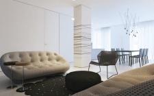 GUSENKO дизайн-проект интерьера квартиры