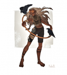 Mistress of ravens