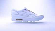 Качественная 3D Модель красcовка Nike