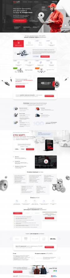 100Soft | Автоматизация автобизнеса