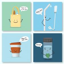 Eco-friendly иллюстрации