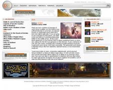 Сайт про компьютерные игры.