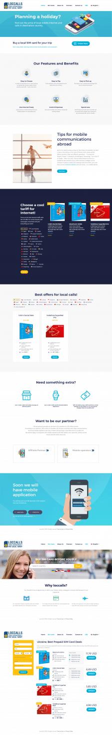 Сервис для покупки СИМ-карт во время путешествий
