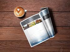 Дизайн брошури 16 сторінок