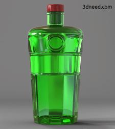 Моделирование и визуализация бутылки