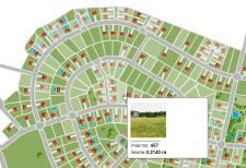 Интерактивный план местности