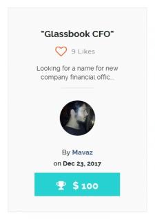 Glassbook CFO