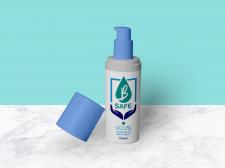 Дизайн этикетки для антисептика B-Safe