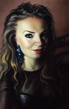 Оля. Портрет
