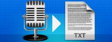 Транскрибация (перевод аудио в текст)