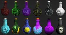Bottles fantasy