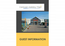 Дизайн брошюры для Caravan Holiday Filey