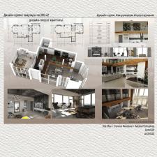 Дизайн-проект квартиры на 300м2