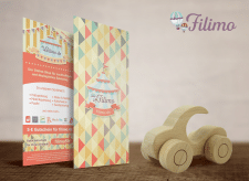 Filimo Toys Shop discount flyer design
