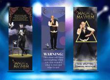 Баннеры для магического шоу