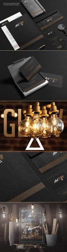 Фирменный стиль и лого для ArtGlow