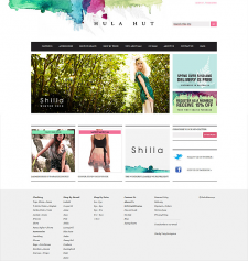 Hula Hut — Women`s fashion online store on Magento