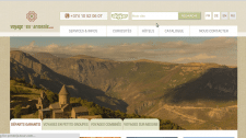 сайт туристического агенства Armenia-tour