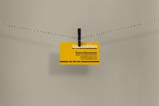 Визитка для грузоперевозочной компании