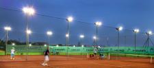 Освещение теннисных кортов г.Львов