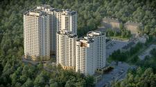 Визуализация жилого   комплекса.