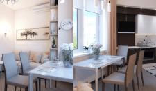 Дизайн интерьера кухни 2-х комнатной квартиры