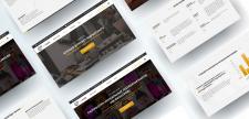 Дизайн сайту агенції Інтернет-маркетингу