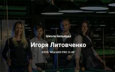 Продвижение Онлайн школы игры в бильярд