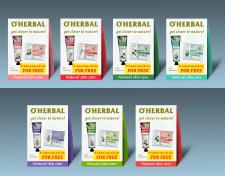 Концепт і верстка подарункових наборів ТМ O'Herbal
