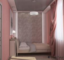 Спальная комната для молодой пары