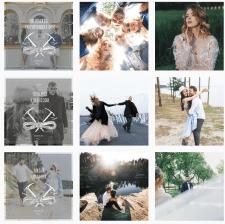 Дизайн постов в Instagram для фотографа