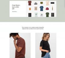 Магазин одежды ugmonk