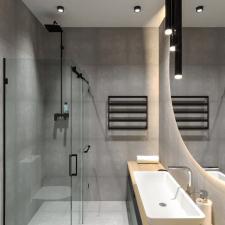 Дизайн и визуализация санузла в гостинице