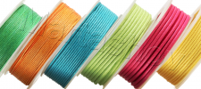 Съемка хлопковых вощенных шнуров