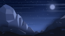 Ночные горы