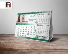 """Календарь на стол домик для фабрики  """"Папа Карло"""""""