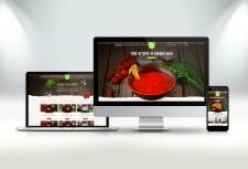 Дизайн сайта доставки домашней еды