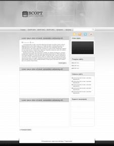 Дизайн сайта ВСОРТ