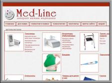 Поисковое продвижение интернет магазина Мед Лайн