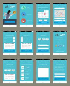 Дизайн интерфейса приложения iphone ios / android