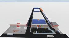 3D визуализация торгового комплекса