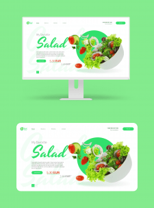Web design: Greek Salad