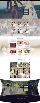 Landing page (LP) Свадебное агенство