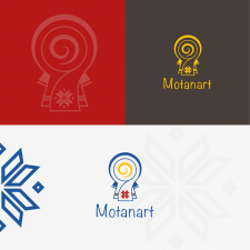 Логотип для Motanart