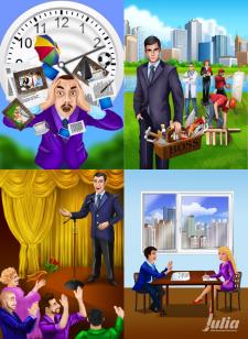 Рисунки для сайта по бизнес тренингу part 1